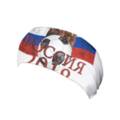 Russia Football World Cup Yoga Headband by Valentinaart