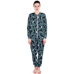 Modern Oriental Ornate Pattern Onepiece Jumpsuit (ladies)  by dflcprints