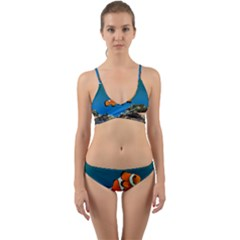 Clownfish 1 Wrap Around Bikini Set by trendistuff