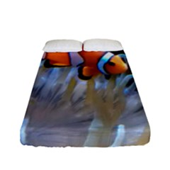 Clownfish 2 Fitted Sheet (full/ Double Size) by trendistuff