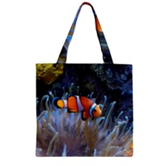 Clownfish 2 Zipper Grocery Tote Bag by trendistuff