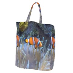 Clownfish 2 Giant Grocery Zipper Tote by trendistuff