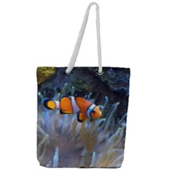 Clownfish 2 Full Print Rope Handle Tote (large) by trendistuff