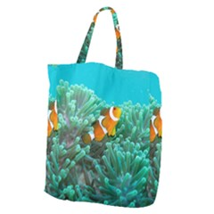 Clownfish 3 Giant Grocery Zipper Tote by trendistuff