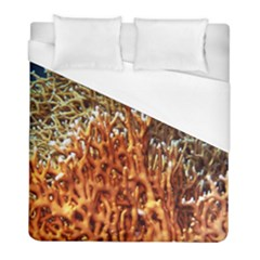 Fire Coral 1 Duvet Cover (full/ Double Size) by trendistuff