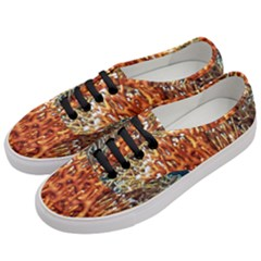 Fire Coral 1 Women s Classic Low Top Sneakers by trendistuff