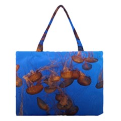 Jellyfish Aquarium Medium Tote Bag by trendistuff