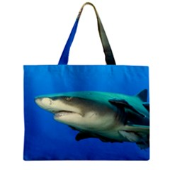 Lemon Shark Zipper Mini Tote Bag by trendistuff