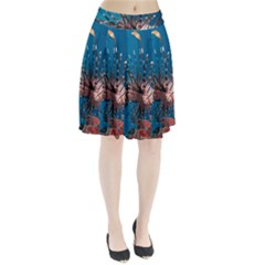 Lionfish 1 Pleated Skirt