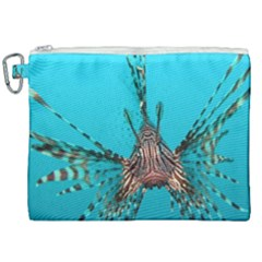 Lionfish 2 Canvas Cosmetic Bag (xxl) by trendistuff