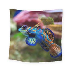 Mandarinfish 1 Square Tapestry (small) by trendistuff