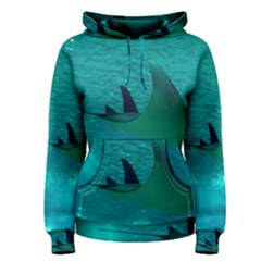 Manta Ray 1 Women s Pullover Hoodie