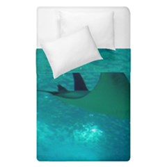 Manta Ray 1 Duvet Cover Double Side (single Size) by trendistuff