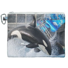 Orca 1 Canvas Cosmetic Bag (xxl) by trendistuff