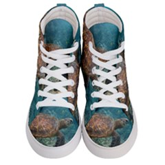 Sea Turtle 3 Women s Hi Top Skate Sneakers