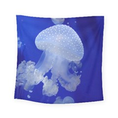 Spotted Jellyfish Square Tapestry (small) by trendistuff