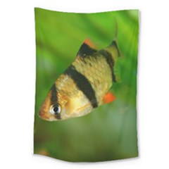 Tiger Barb Large Tapestry by trendistuff