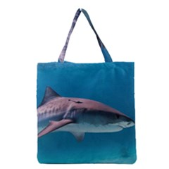 Tiger Shark 1 Grocery Tote Bag by trendistuff