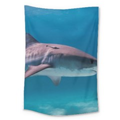 Tiger Shark 1 Large Tapestry by trendistuff