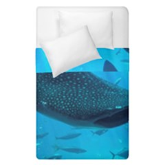 Whale Shark 2 Duvet Cover Double Side (single Size) by trendistuff
