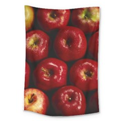 Apples 2 Large Tapestry by trendistuff