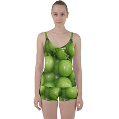 Apples 4 Tie Front Two Piece Tankini by trendistuff