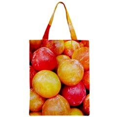 Apricots 1 Zipper Classic Tote Bag by trendistuff