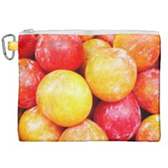 Apricots 1 Canvas Cosmetic Bag (xxl) by trendistuff