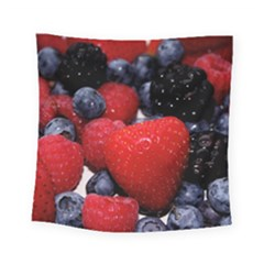 Berries 1 Square Tapestry (small) by trendistuff