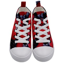 Berries 1 Kid s Mid Top Canvas Sneakers
