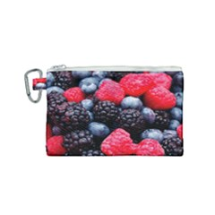 Berries 2 Canvas Cosmetic Bag (small) by trendistuff