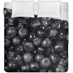 Blueberries 1 Duvet Cover Double Side (king Size) by trendistuff