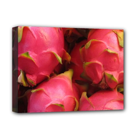Dragonfruit Deluxe Canvas 16  X 12   by trendistuff