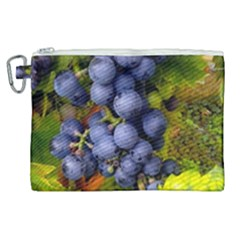 Grapes 1 Canvas Cosmetic Bag (xl) by trendistuff