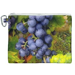 Grapes 1 Canvas Cosmetic Bag (xxl) by trendistuff