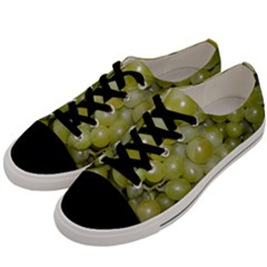 Grapes 5 Men s Low Top Canvas Sneakers by trendistuff