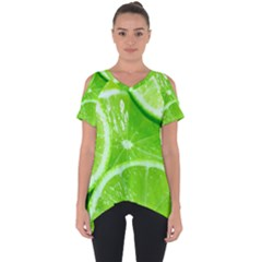 Limes 2 Cut Out Side Drop Tee