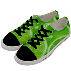 Limes 2 Men s Low Top Canvas Sneakers by trendistuff
