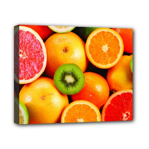 Mixed Fruit 1 Canvas 10  X 8  by trendistuff