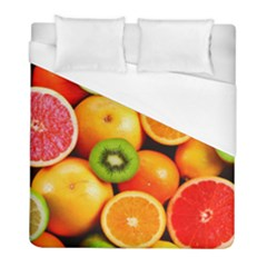 Mixed Fruit 1 Duvet Cover (full/ Double Size) by trendistuff
