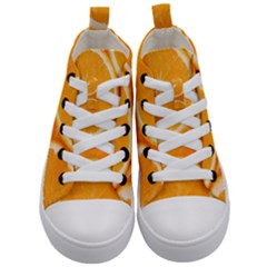Oranges 4 Kid s Mid-top Canvas Sneakers
