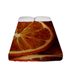 Oranges 5 Fitted Sheet (full/ Double Size) by trendistuff