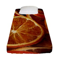 Oranges 5 Fitted Sheet (single Size) by trendistuff