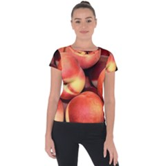 Peaches 1 Short Sleeve Sports Top