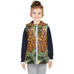 Pineapple 2 Kid s Hooded Puffer Vest