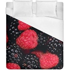 Raspberries 1 Duvet Cover (california King Size) by trendistuff