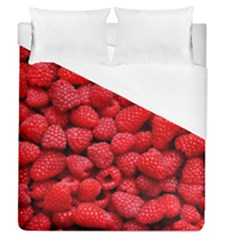 Raspberries 2 Duvet Cover (queen Size) by trendistuff