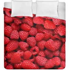 Raspberries 2 Duvet Cover Double Side (king Size) by trendistuff