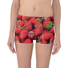 Strawberries 1 Boyleg Bikini Bottoms by trendistuff