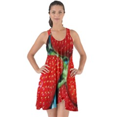 Strawberries 3 Show Some Back Chiffon Dress